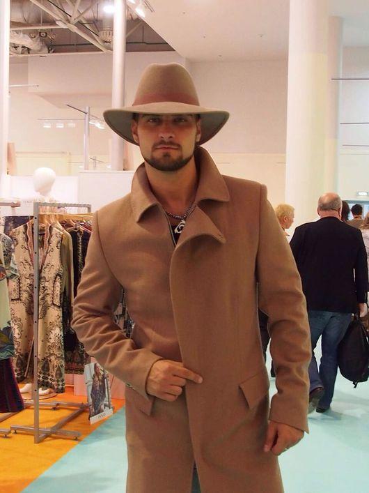Шляпы ручной работы. Ярмарка Мастеров - ручная работа. Купить Мужская шляпа. Handmade. Мужская шляпа, шляпа с полями