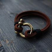 Украшения handmade. Livemaster - original item Bracelet with bronze lock. Handmade.