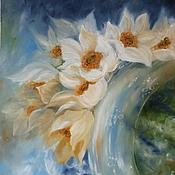 """Картины и панно ручной работы. Ярмарка Мастеров - ручная работа Картина """"Земные ангелы - небесные цветы"""". Handmade."""