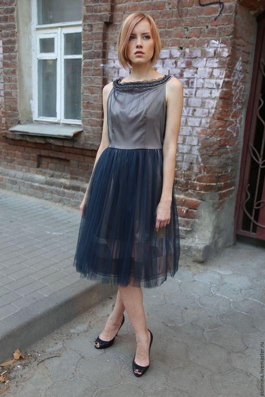 Платья ручной работы. Ярмарка Мастеров - ручная работа. Купить Платье ЗВЕЗДОЧКА. Handmade. Комбинированный, купить платье платье
