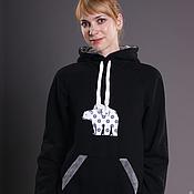 Одежда handmade. Livemaster - original item Sweatshirt Arctic. Handmade.