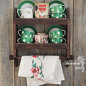 Для дома и интерьера ручной работы. Ярмарка Мастеров - ручная работа Полка кухонная Винтажный стиль. Handmade.
