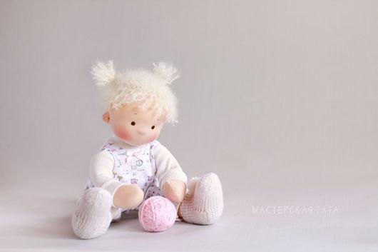 Вальдорфская игрушка ручной работы. Ярмарка Мастеров - ручная работа. Купить Непоседа, игровая текстильная кукла. Handmade. Вальдорфская кукла