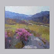 Картины и панно handmade. Livemaster - original item Blooming valley. Handmade.