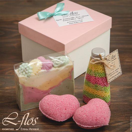 Подарочный набор `Розовая ваниль`