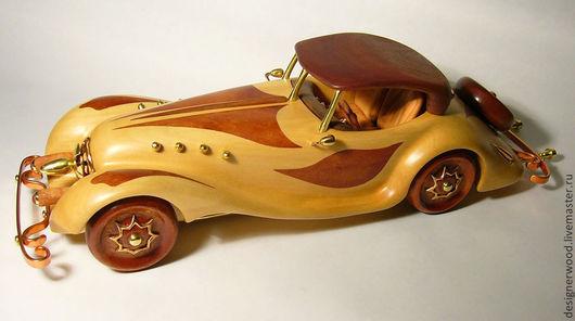 Автомобильные ручной работы. Ярмарка Мастеров - ручная работа. Купить ретро автомобиль. Handmade. Модель автомобиля, декор интерьера