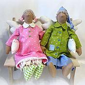 Куклы и игрушки ручной работы. Ярмарка Мастеров - ручная работа Пижамные человечки. Handmade.