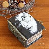 Для дома и интерьера handmade. Livemaster - original item Harry Potter, the book-box. Handmade.