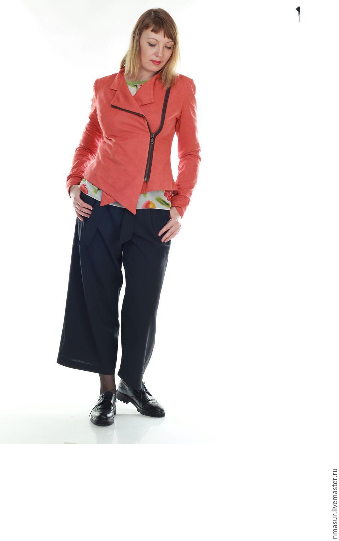 Купить Куртка из тонкой искусственной  замши в интернет магазине на Ярмарке Мастеров
