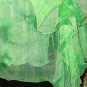 Одежда ручной работы. Ярмарка Мастеров - ручная работа Туника-топ Свежая зелень. Handmade.