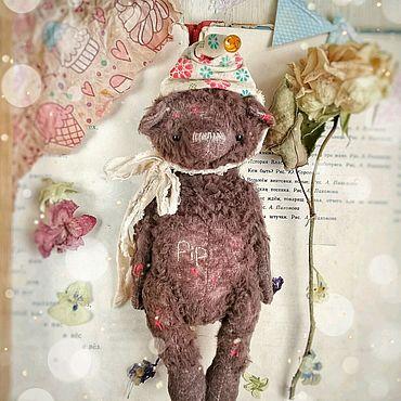 Куклы и игрушки ручной работы. Ярмарка Мастеров - ручная работа Мишка Тедди (Pip). Handmade.