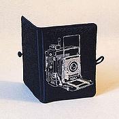 Сувениры и подарки ручной работы. Ярмарка Мастеров - ручная работа Органайзер для флэшек, карт памяти и банковских карточек для Фотографа. Handmade.