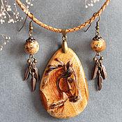 Украшения ручной работы. Ярмарка Мастеров - ручная работа Кулон с лошадью. Handmade.