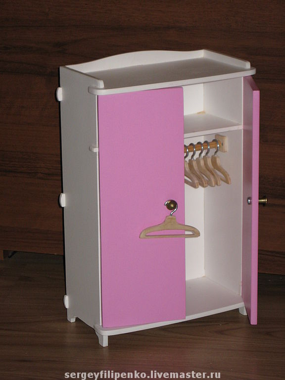 Шкаф для куклы барби своими руками фото 76