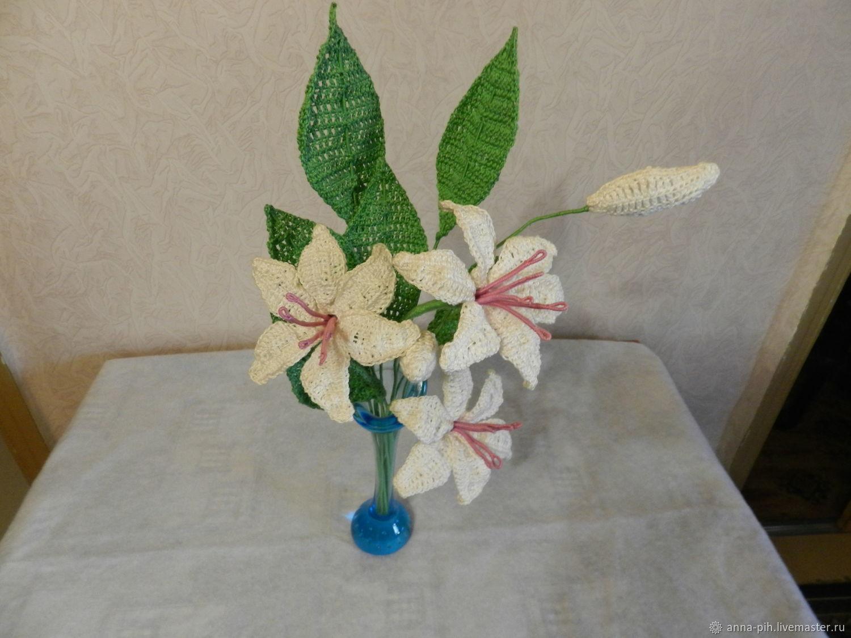 вязаные букеты цветов купить в интернет магазине на ярмарке
