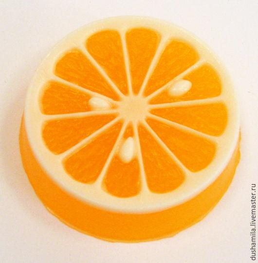 Мыло ручной работы. Ярмарка Мастеров - ручная работа. Купить Мыло Долька апельсина. Handmade. Комбинированный, мыло цитрусовое, лимончик