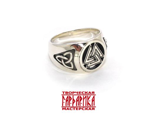 Перстень `Валькнут`
