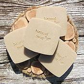 """Мыло ручной работы. Ярмарка Мастеров - ручная работа Натуральное мыло с нуля """"Дегтярное"""". Handmade."""