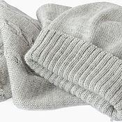 Аксессуары handmade. Livemaster - original item Set hat and scarf women knitted. Handmade.