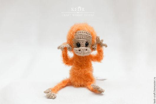 """Игрушки животные, ручной работы. Ярмарка Мастеров - ручная работа. Купить обезьянка """"Кори"""". Handmade. Вязаные игрушки, звери, мартышка"""