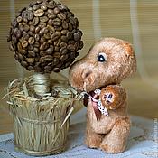 Куклы и игрушки ручной работы. Ярмарка Мастеров - ручная работа Кофейный Бегемоша. Handmade.