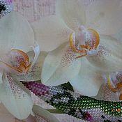 Украшения ручной работы. Ярмарка Мастеров - ручная работа Викторианский сад вязаный жгут. Handmade.