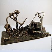 Сувениры и подарки handmade. Livemaster - original item The lawnmower man. Handmade.