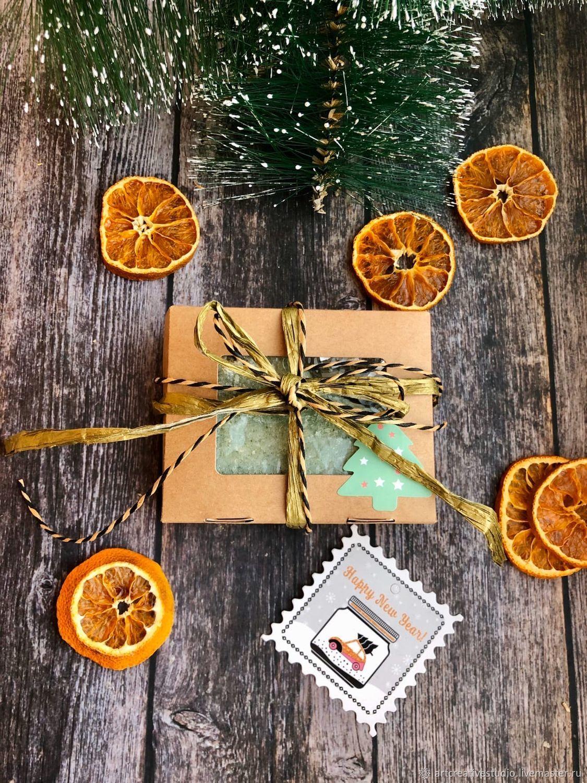Натуральное мыло ручной работы в подарочной упаковке, Мыло, Набережные Челны,  Фото №1