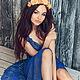 Платья ручной работы. Ярмарка Мастеров - ручная работа. Купить Платье вязаное Алиса. Handmade. Платье коктейльное, Платье нарядное