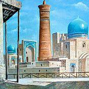 Картины и панно handmade. Livemaster - original item Picture: Bukhara. Ensemble POI-Kalyan.. Handmade.
