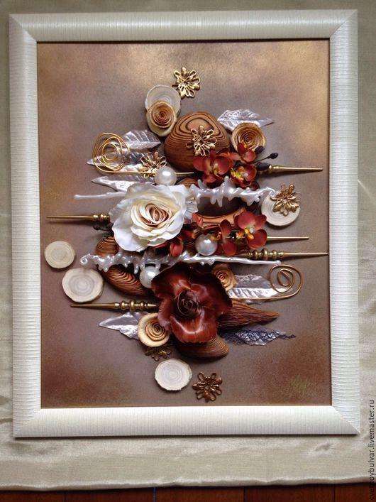 Картины цветов ручной работы. Ярмарка Мастеров - ручная работа. Купить Параллели. Handmade. Комбинированный, интерьерная картина, дерево