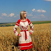 """Одежда ручной работы. Ярмарка Мастеров - ручная работа Платье """"Макошь"""". Handmade."""