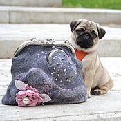 Сумки и аксессуары handmade. Livemaster - original item Felted handbag