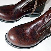 """Обувь ручной работы. Ярмарка Мастеров - ручная работа Сапоги """"Сasual"""". Handmade."""