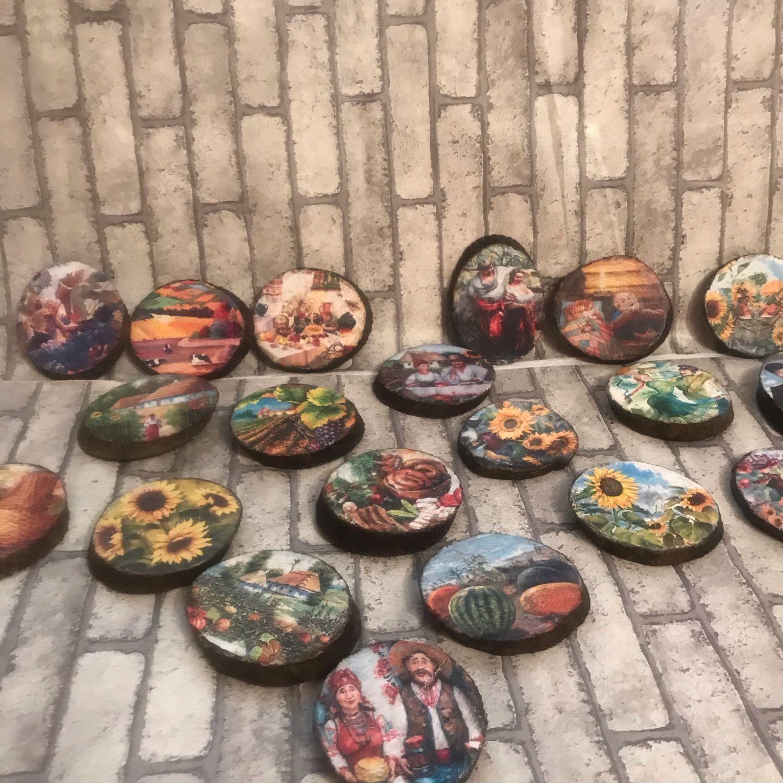 Магниты на спиле тополя, Магниты, Солнечногорск,  Фото №1
