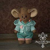 Куклы и игрушки ручной работы. Ярмарка Мастеров - ручная работа Мышка Карамелька. Handmade.