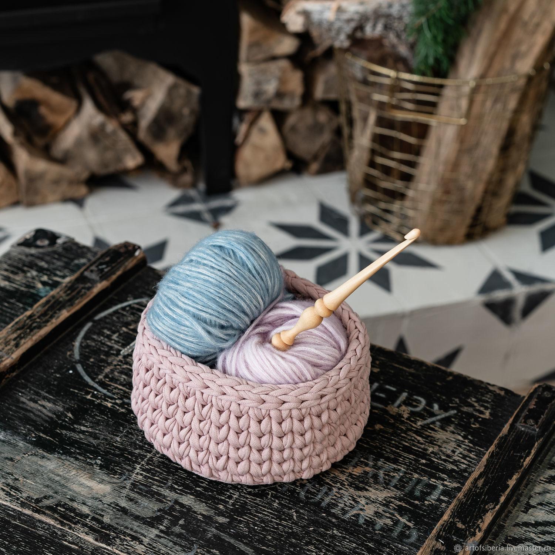 Knitting hook made of Siberian cedar wood 6 mm. K184, Crochet Hooks, Novokuznetsk,  Фото №1