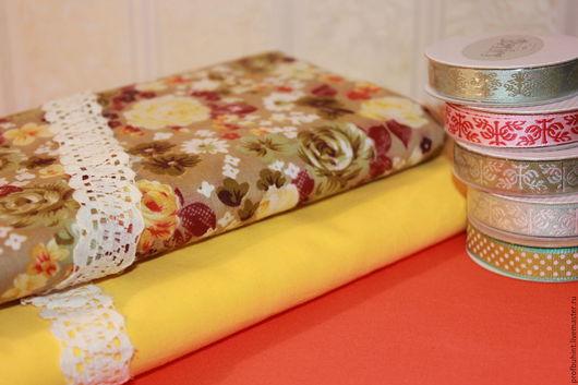 Шитье ручной работы. Ярмарка Мастеров - ручная работа. Купить Набор тканей для Тильд, кукол, печворка, квилтинга и разного рукоделия. Handmade.