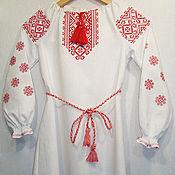 Русский стиль handmade. Livemaster - original item Children`s folk dress