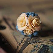 Украшения ручной работы. Ярмарка Мастеров - ручная работа СКИДКА ! кольцо Мое черничное настроение. Handmade.