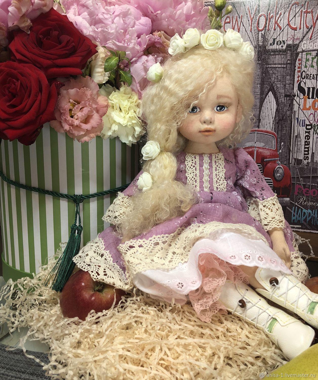 Будуарная кукла София ручной работы, Будуарная кукла, Москва,  Фото №1