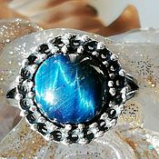Украшения handmade. Livemaster - original item Ring with natural tiger eye