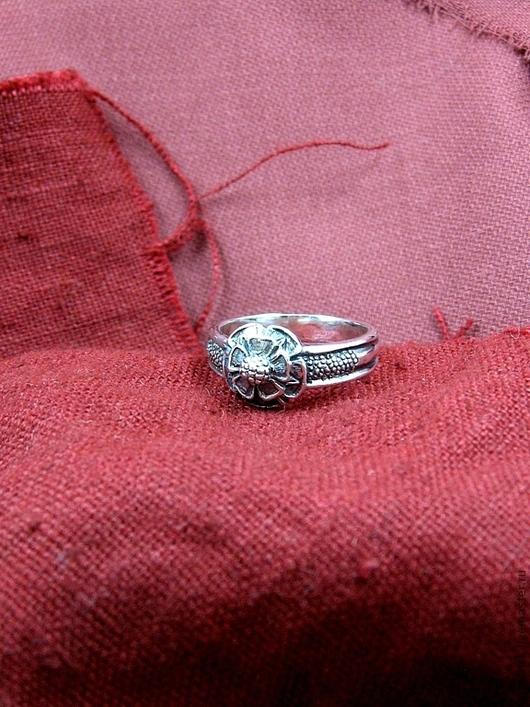 """Кольца ручной работы. Ярмарка Мастеров - ручная работа. Купить кольцо """"Роза Тюдоров"""". Handmade. Серебряный, средневековье, ювелир, тюдоры"""
