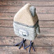 Куклы и игрушки ручной работы. Ярмарка Мастеров - ручная работа Избушка на курьих ножках - коллекционная войлочная игрушка. Handmade.