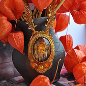 Украшения handmade. Livemaster - original item Necklace of beads