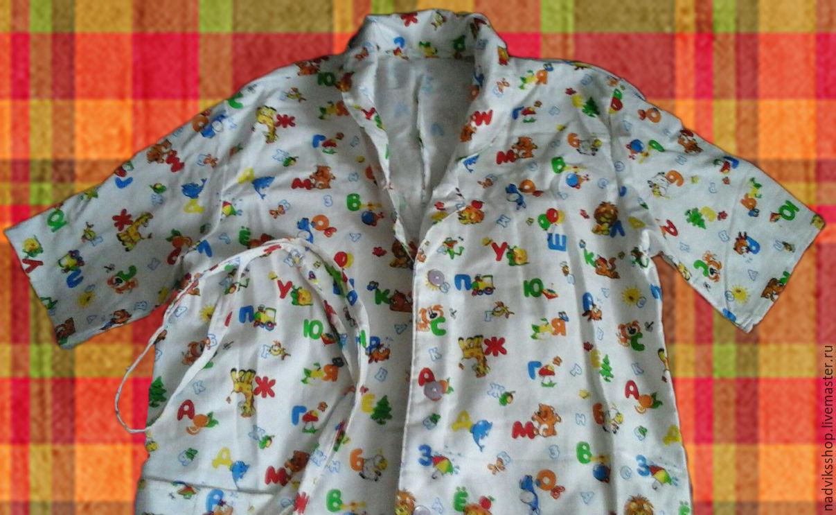 Сшить фланелевый халат