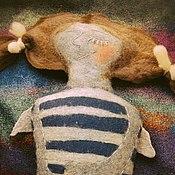 Куклы и игрушки ручной работы. Ярмарка Мастеров - ручная работа Игрушка-подушка Ангел-Засыпангел Морячка Соня. Handmade.