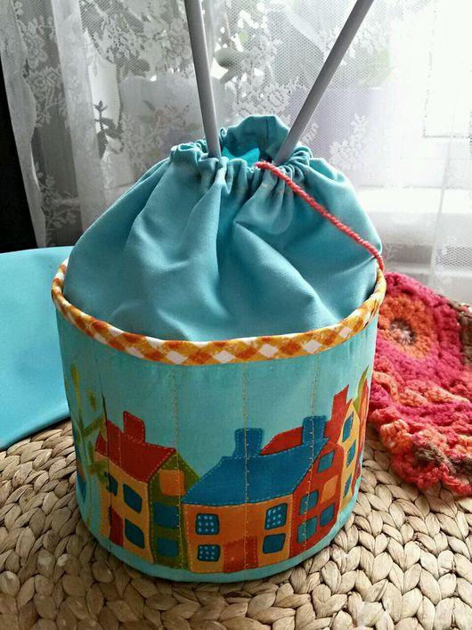 Корзины, коробы ручной работы. Ярмарка Мастеров - ручная работа. Купить Текстильная корзинка для рукоделия,кухни,детской и ванной комнат. Handmade.