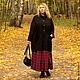 Верхняя одежда ручной работы. Заказать Пальто со спущенным рукавом из шерсти art.C1. MUHA (vintagechic). Ярмарка Мастеров.
