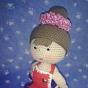 Мягкие игрушки ручной работы. Ярмарка Мастеров - ручная работа Амигуруми милая кукла. Handmade.
